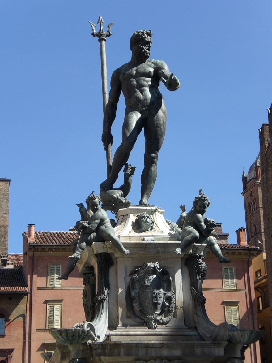 Fontana del Nettuno in Bologna