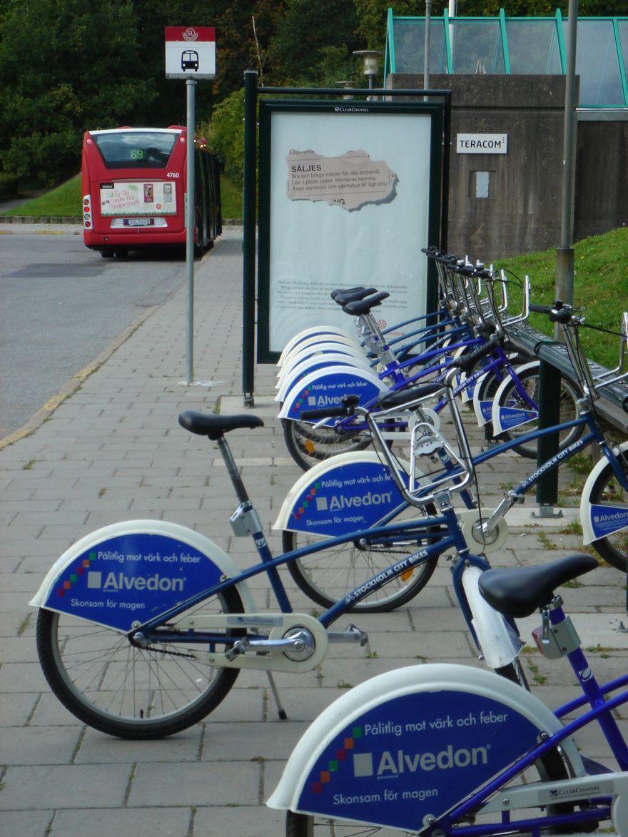 Stockholm by bike