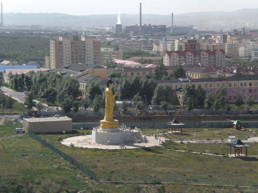 Golden Buddha Ulaanbaatar