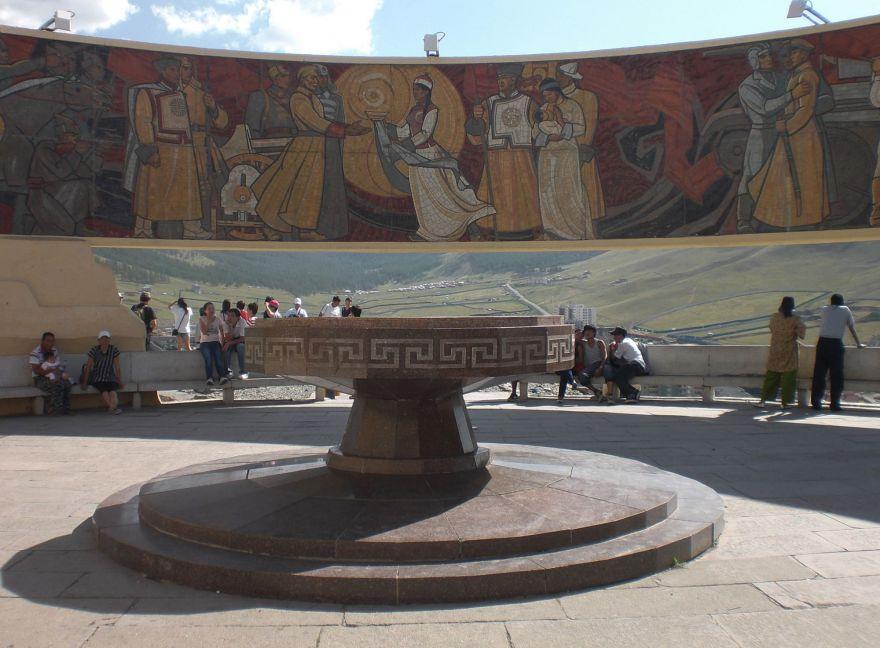 Zaisan Monument Ulaanbaatar
