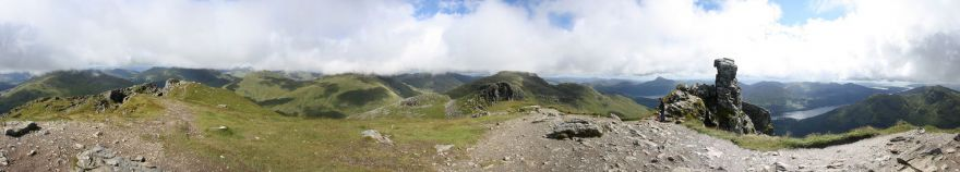 Panorama from the Cobbler