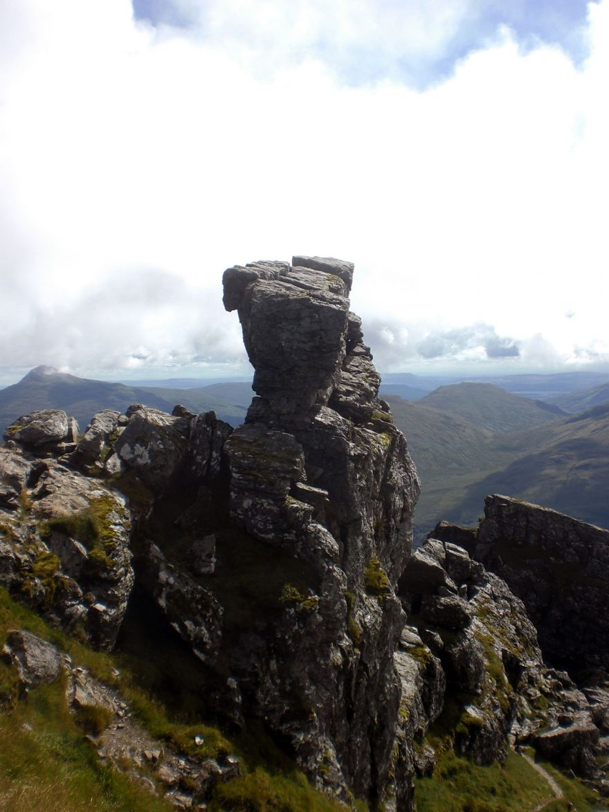 The Needle on top of the Cobbler
