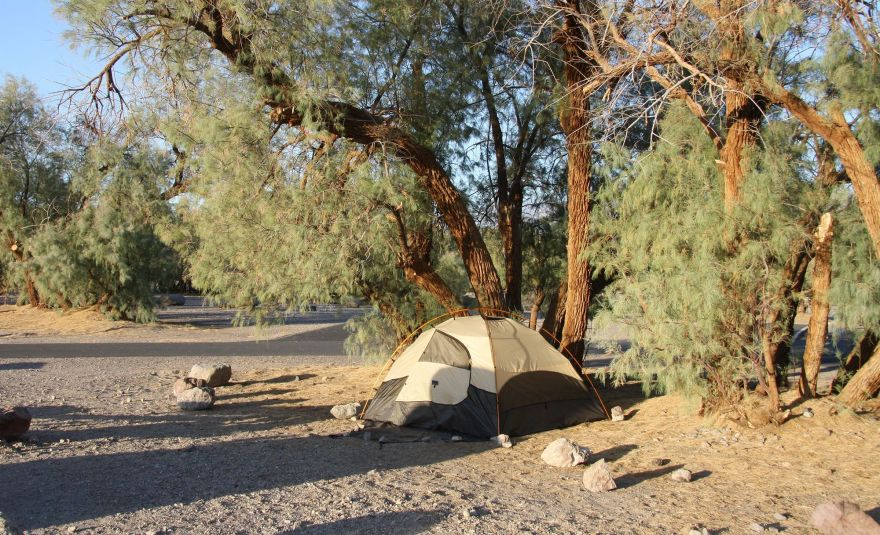 Camping in Death Valley National Park