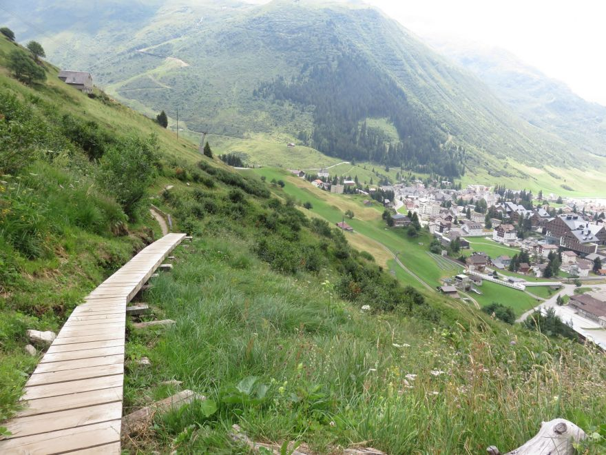 Trail near Andermatt
