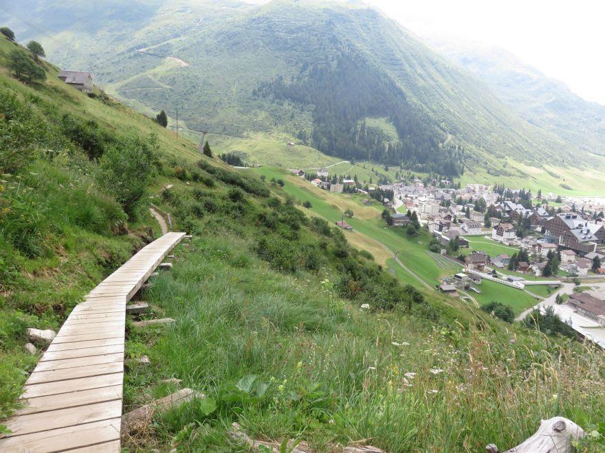 Trail near Andermatt