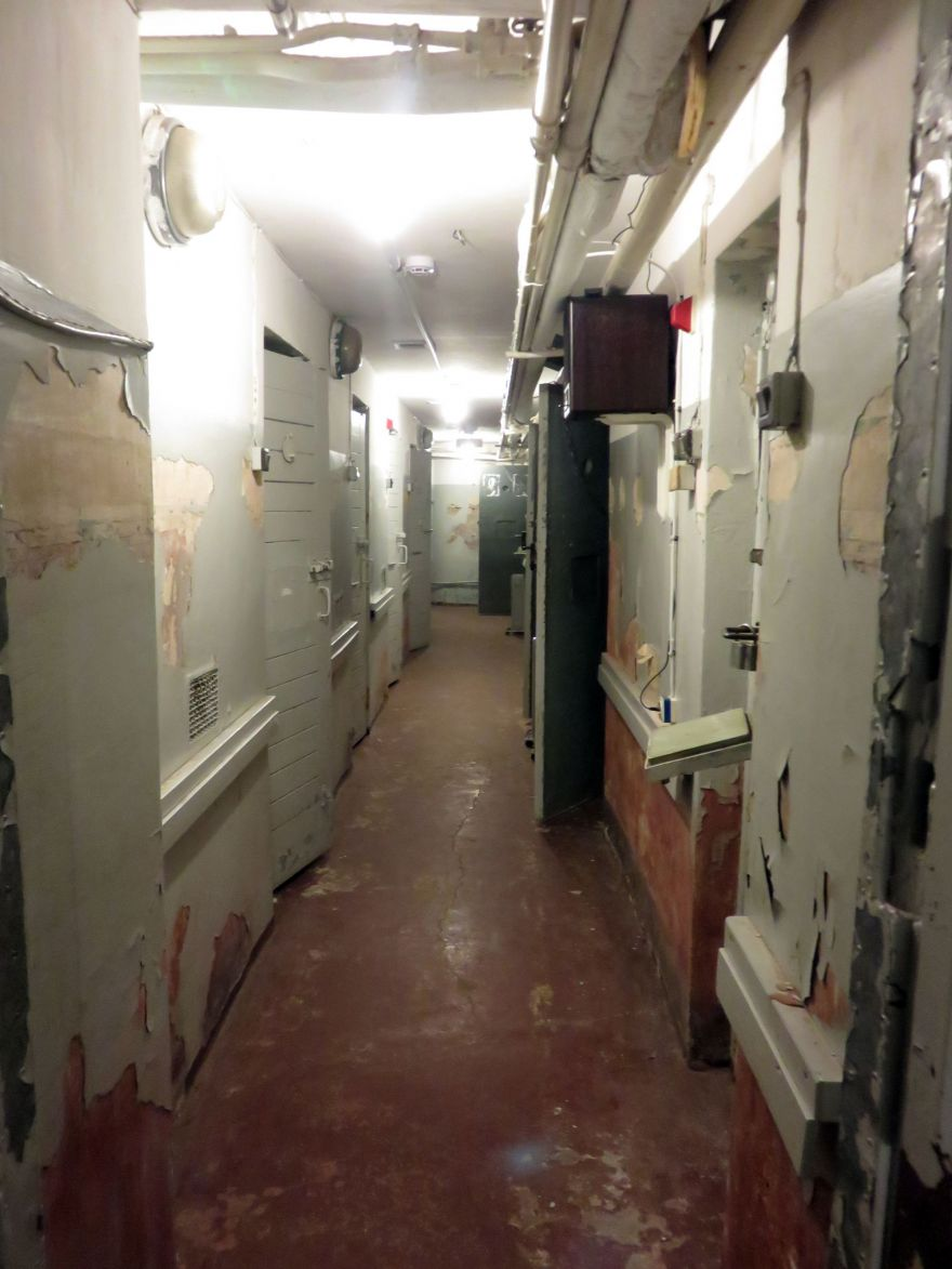 Prison inside KGB headquarter Riga