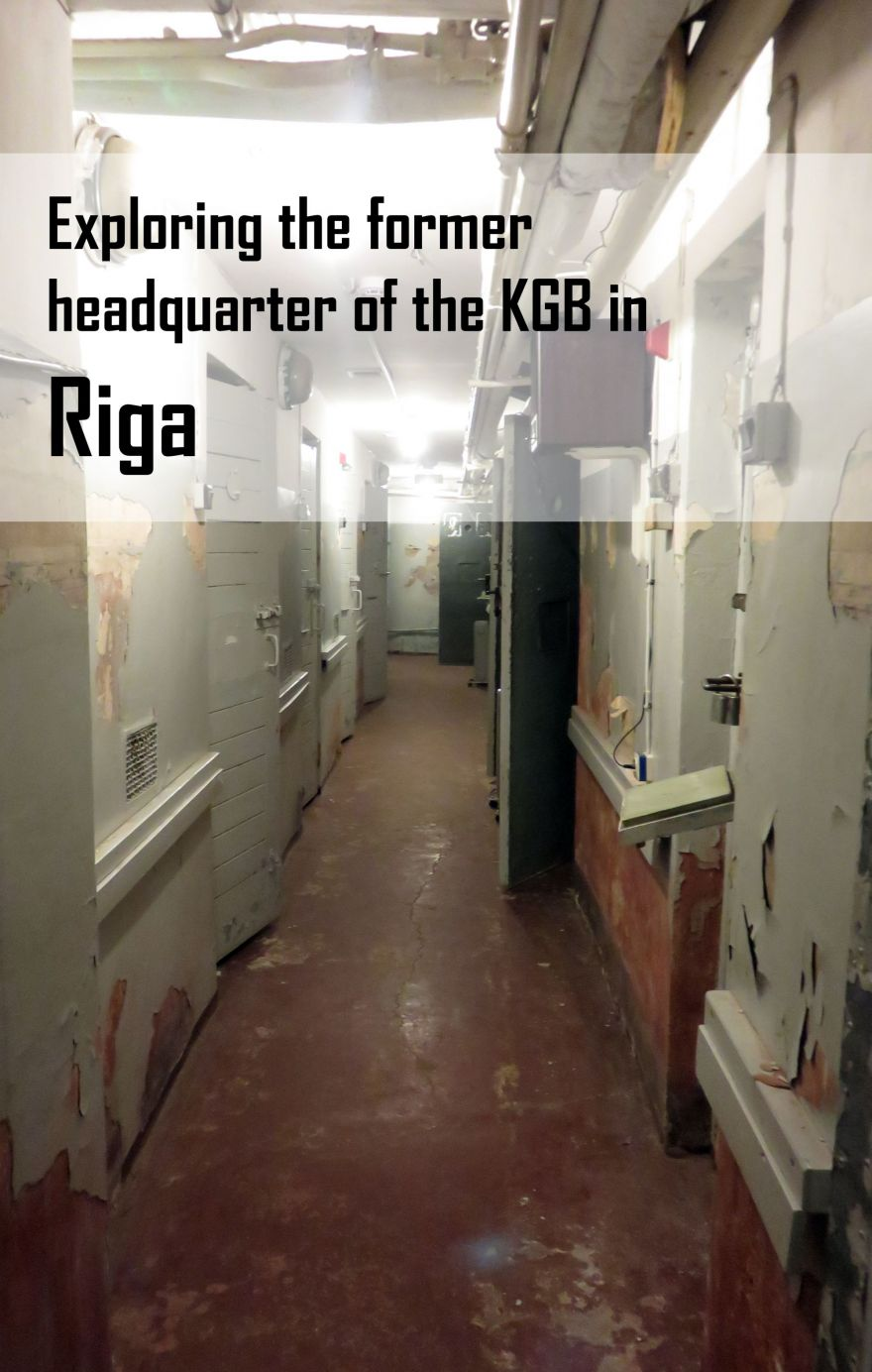 Exploring the former headquarter of the KGB in Riga