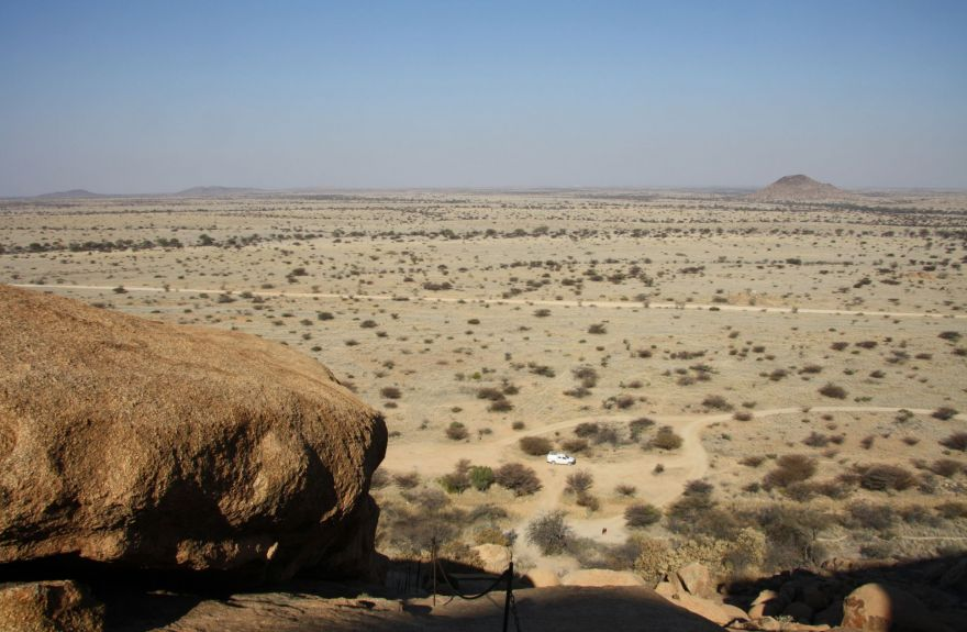 View from Spitzkoppe