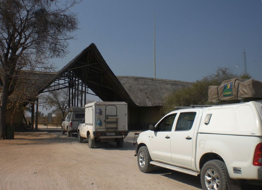 Gate of Chobe National Park