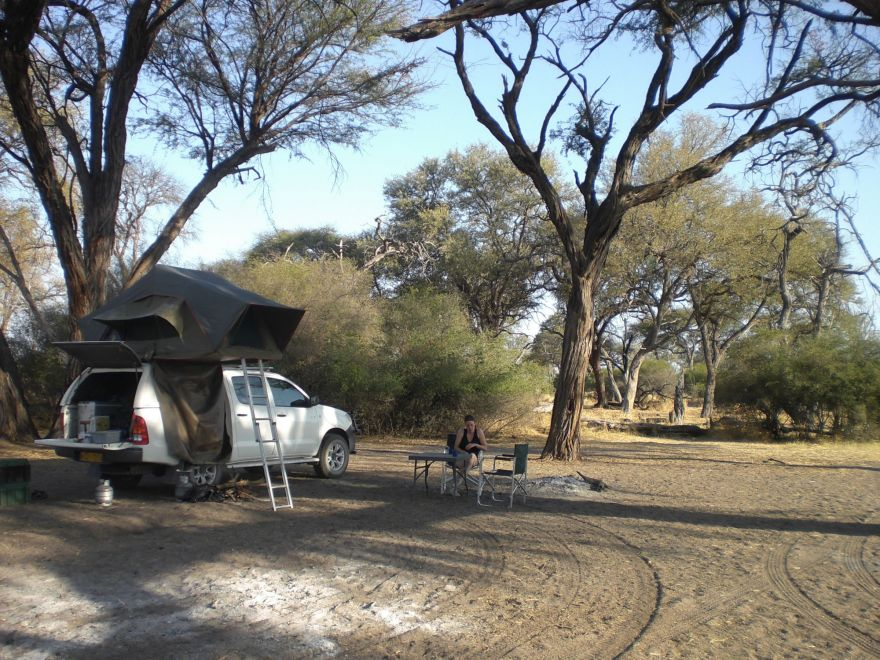 Camping in Chobe National Park