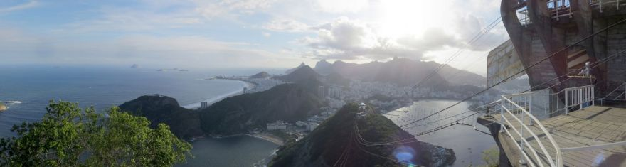 Panorama from Sugarloaf Mountain