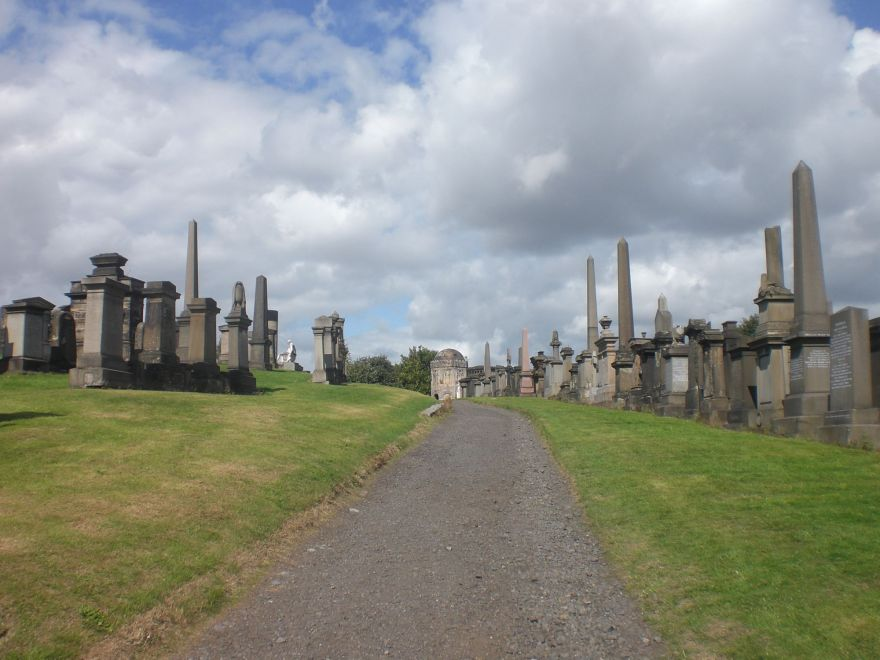 Necropolis in Glasgow