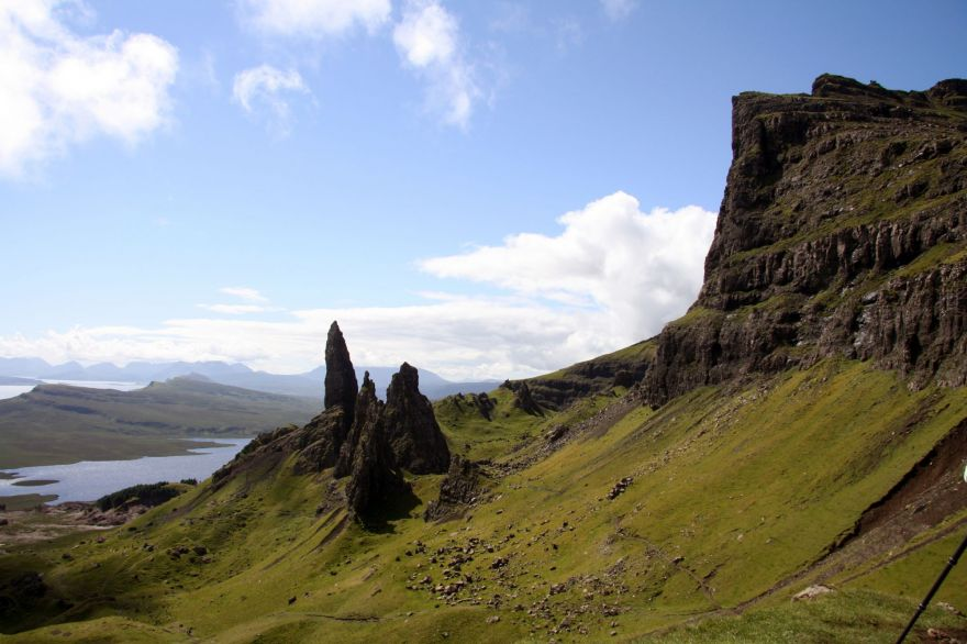 View from Old man of Storr