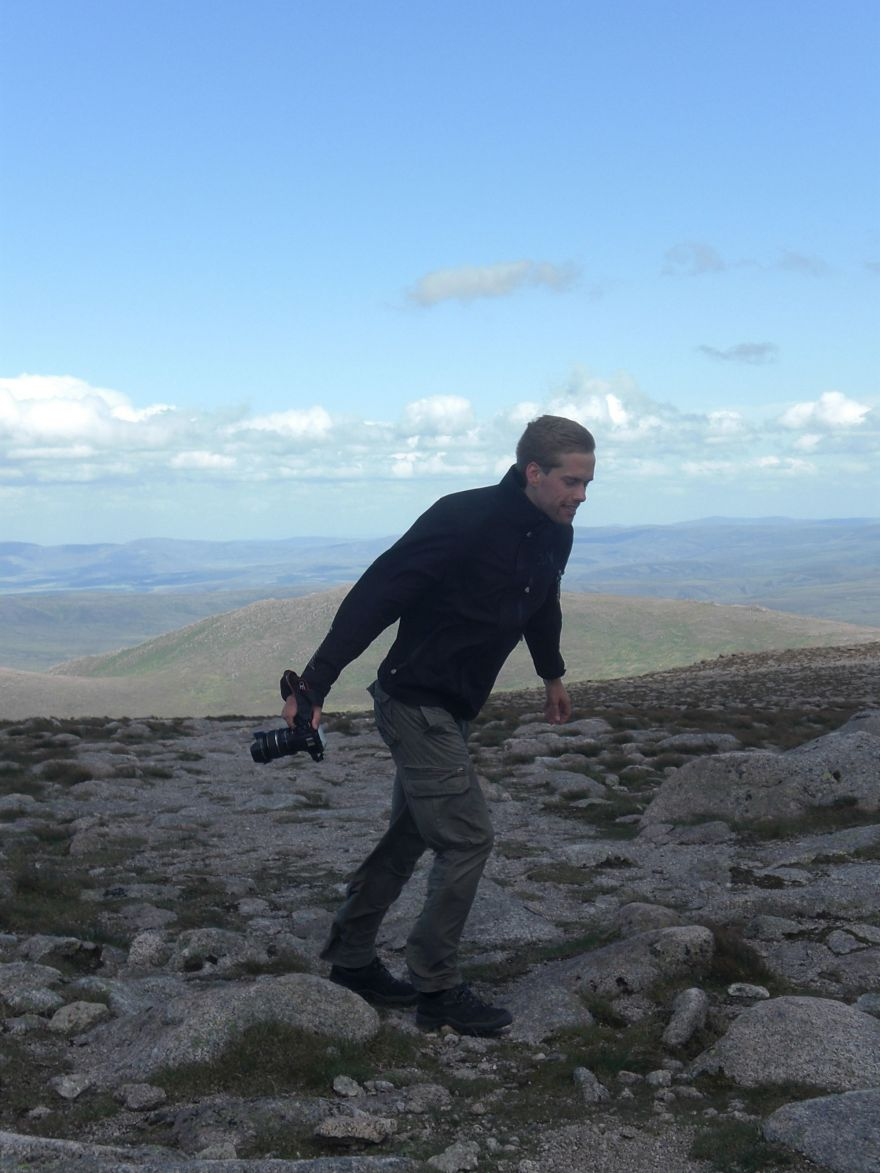 Gale force wind Cairngorms