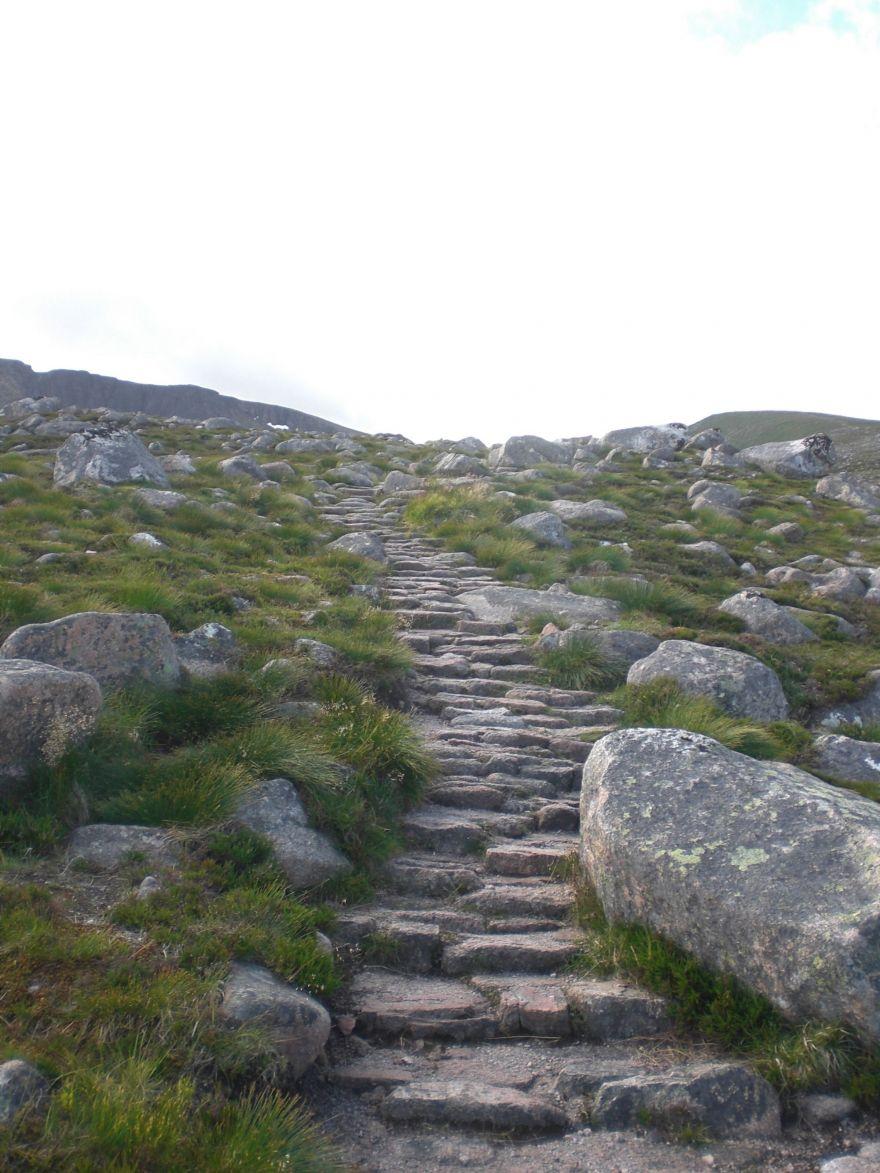 Hiking to Ben Macdui