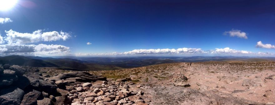 Panoramic view Cairngorms