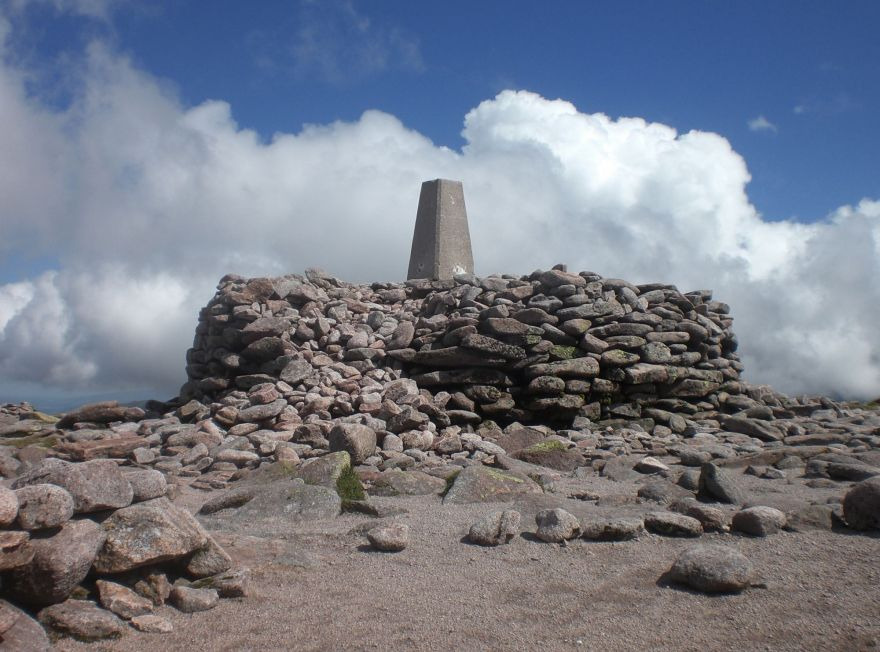 Summit of Ben Macdui