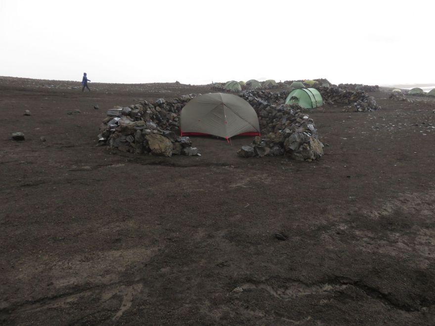 Camping at Hrafntinnusker