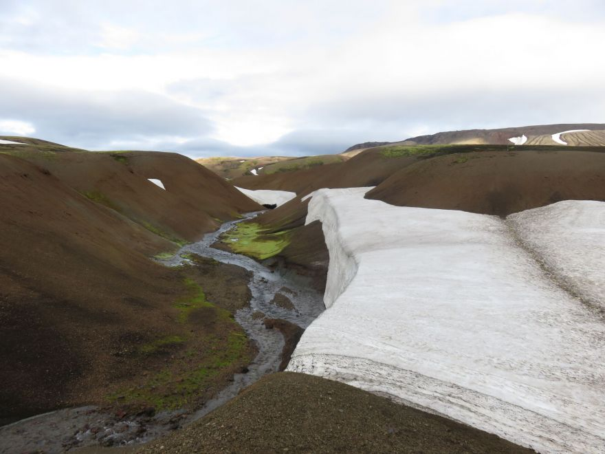 Ice on the Laugavegur