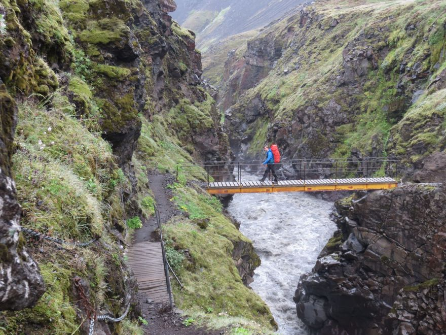 Emstrur Bridge Iceland